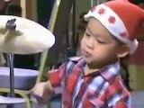 Batteur de 3 Ans ~ Babby Drummer (HQ)