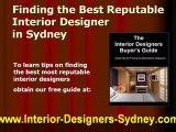 Interior Designers Sydney - Free Interior Designers Buying