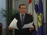 Régis Labeaume maire de Québec - Bordeaux fête le vin