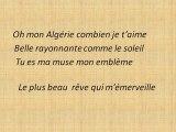 mon algerie dans mon coeur tu te reposes