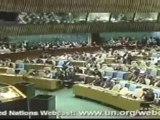 Le formidable discours de paix d'Ahmadinejad à l'ONU en Fr 1