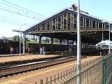 Train à vapeur gare de Blois