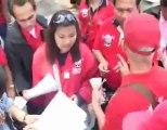 les reds shirts se font payer par Thaksin - 12 mars 2010