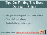 Boise Dentist Specializes in Cosmetic, Sedation and Implant