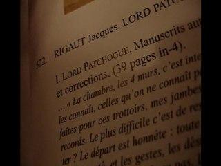Rigaut à Drouot (lot 522)
