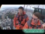 Skywalk Auckland: 650 feet above Auckland, New Zealand