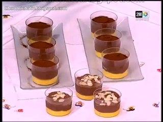 Mousse chocolat à l'abricot