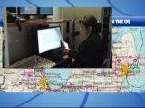 Séance d'enregistrement d'une chronique pour France 24
