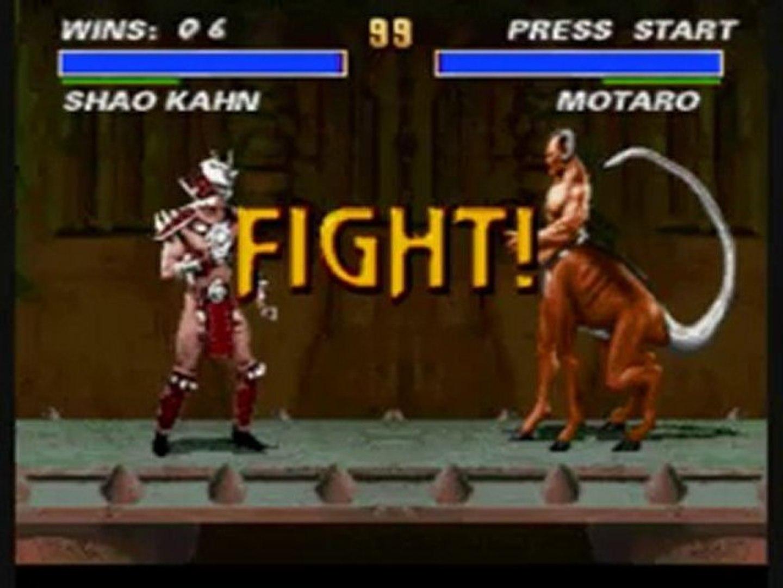 Mortal Kombat 3  (SNES) Boss VS Boss Fights