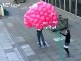 lancer de ballons fail