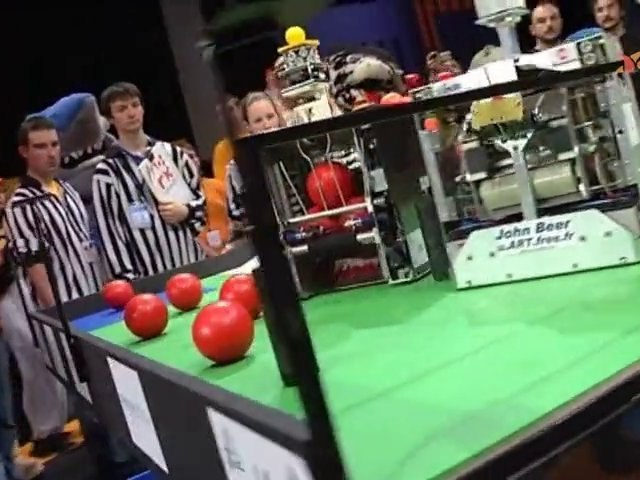 Coupe de France de robotique 2010 : la finale
