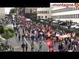 Défilé de la manifestation à Clermont-Ferrand du 27 Mai 2010