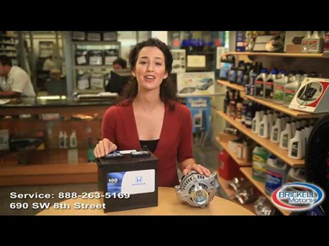 Miami parts battery, Miaim Honda, Honda dealership