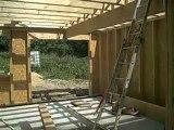 Maison en Bois construction d'une-maison bois ossature bois