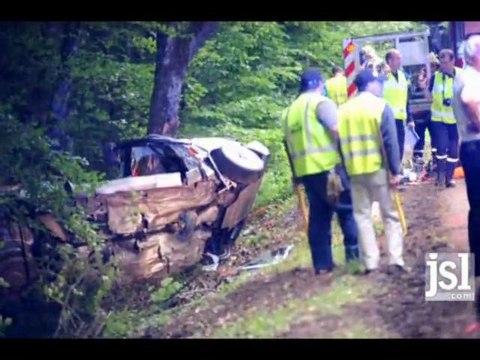Accident mortel sur le rallye des vins à Mâcon