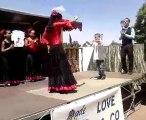 gitane qui danse flamenco