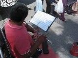 Musicos Callejeros, El Flautista del Swing