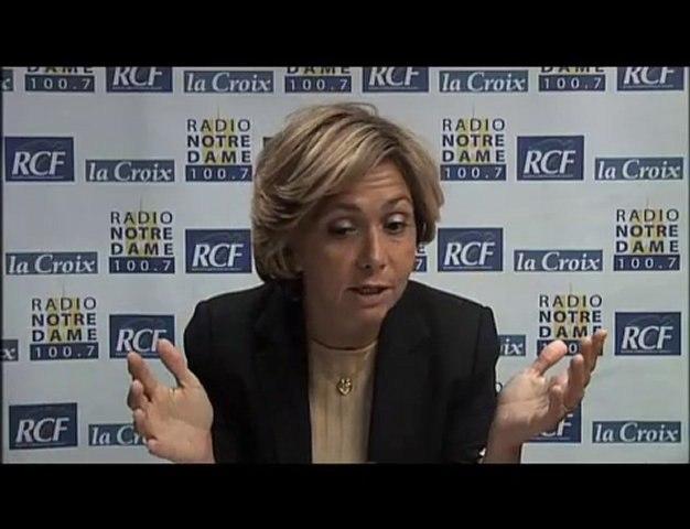 Valérie Pecresse - Face aux Chrétiens partie 2 - 03/06/2010