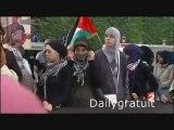 Manifestation contre israel à Paris
