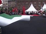 Manifestation pacifique pour la Palestine à Strasbourg