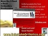 Saint John Orthotics, What Are Foot Orthotics?