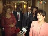 audience Mme Chantal Biya nice Sommet France Afrique