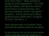 """Juliette Mézenc """"le journal du brise-lames"""" (extrait 1)"""