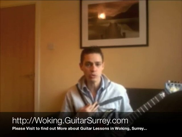 Guitar Lessons Woking