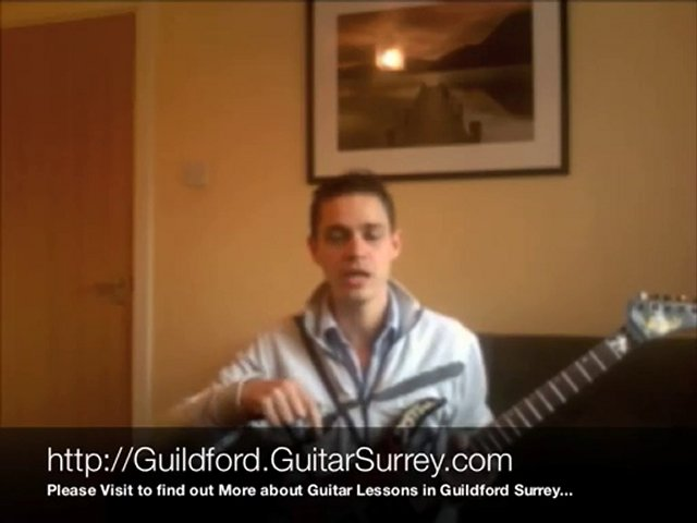 Guitar Lessons Guildford