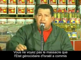 "Chavez : ""Maudit sois-tu, Etat d'Israël !"""