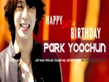 Happy 24th Birthday Micky Yoochun ! (from Turkish Cassiopei)