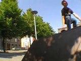 Skate In Liege - François - holy kickflip