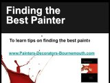 How to Find the Right Bournemouth Painter and Decorator