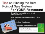 Restaurant POS - Point of Sale for Restaurants