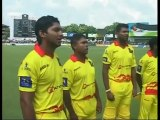 Sri Lankan cricketers @ IIFA Charity Cricket match