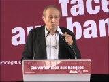"""Bernard Cassen : """"Gouverner face aux banques"""" (Forum PG)"""