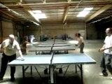 Fred, Lolo et leurs ami(e)s au ping-pong