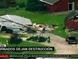 Tormentas eléctricas dejaron siete muertos en EE.UU.