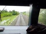 Voyage en cabine TER de Grisolles à St Jory