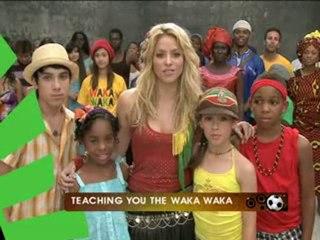 Making of Shakira video