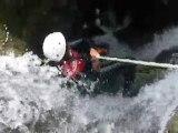 Canyoning en Savoie avec le Lycée Professionnel du Grand Arc