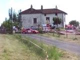 PassageSpéctacle Nissan 350 Z Rallye Des trois Chateaux 2010