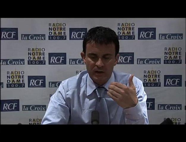 Manuel Valls - Face aux Chrétiens - 10/06/2010