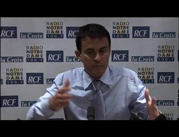 Manuel Valls - Face aux Chrétiens partie 3 - 10/06/2010