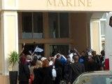 Άφιξη της εθνικής στο ξενοδοχείο στο Πορτ Ελίζαμπεθ 3