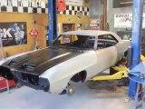 "1969 Pontiac Firebird ""Routy"" Sheetmetal Install Video V8TV"