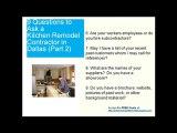 Kitchen Remodel Contractor Mesquite - Best Quotes Bids