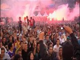 FOOTBALL365 : Les supporters Bleus après Uruguay-France