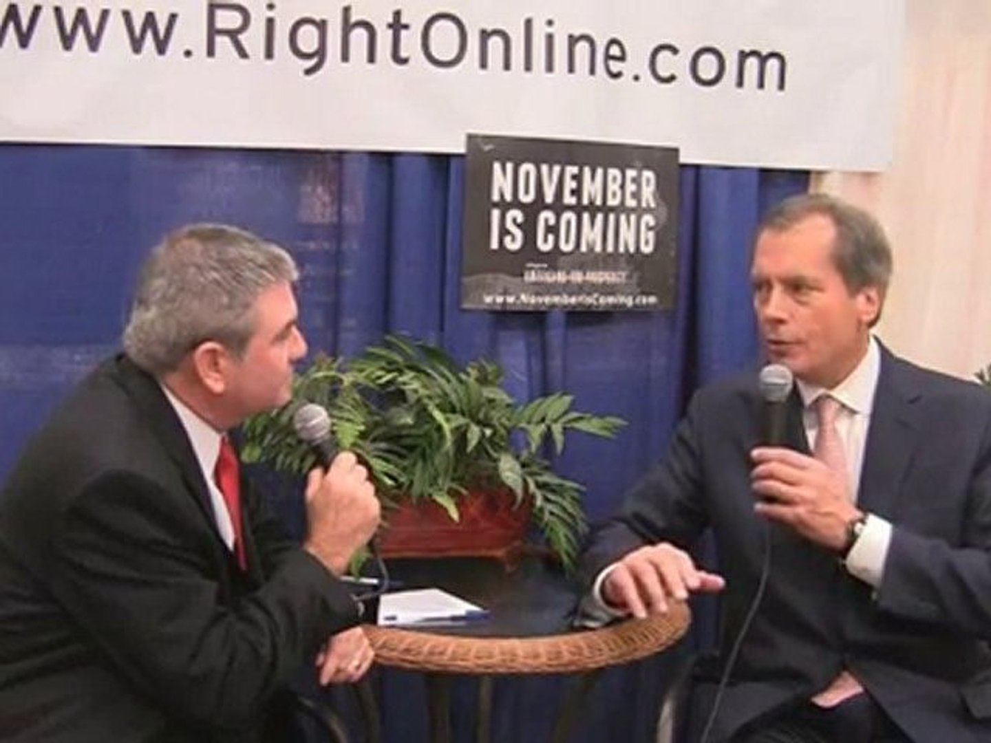 RightOnline Bloggers' Row: David Dewhurst - Part 1