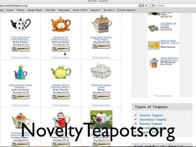 Novelty Teapots